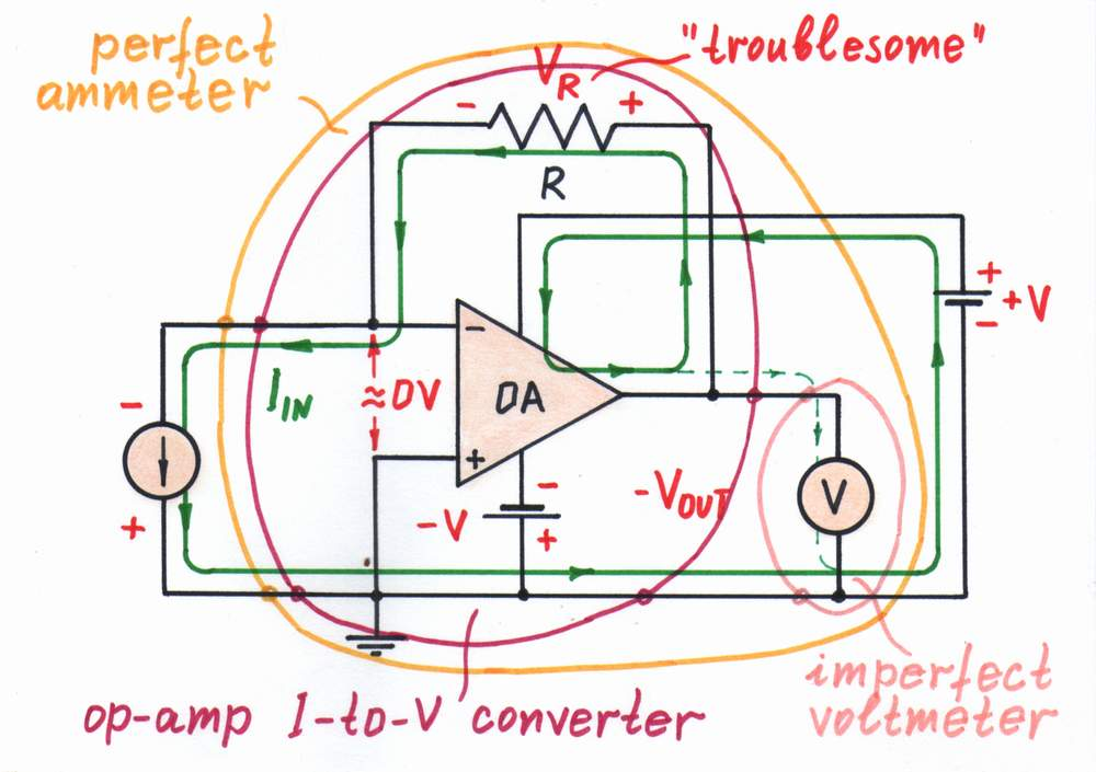 Voltage To Current Converter Op Amp