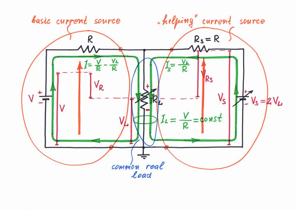 What Is the Idea behind Howland Current Source?  What Is the Ide...