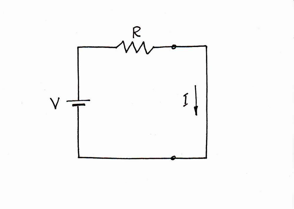 What is the idea behind Simple Current Source (at a real load)?