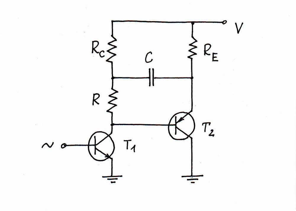 what is the idea behind transistor current source with shifting capacitor